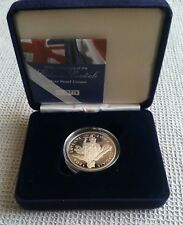 2004 UK 5 Five Pounds Silver Proof Coin Entente Cordiale Centenary box/COA
