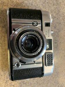 Vintage Regula-Werk King K G 35mm Film Camera, Steinheil Munchen Cassie S 45mm