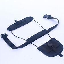 Black Adjustable Belt Carry Bag Strap Travel Luggage Suitcase On Bungee Upgraded