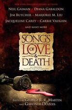 Songs of Love and Death: All Original Tales of Star Crossed Love-ExLibrary