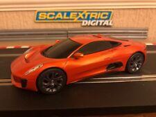 Scalextric Digital Jaguar C-X75 James Bond Mint Condition