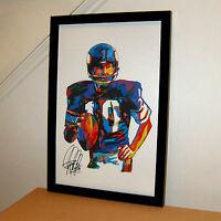 Fran Tarkenton Minnesota Vikings Football Sports Print Poster Wall Art 11x17