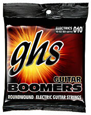 GHS GBTNT Boomers Roundwound Electric Guitar Strings 10-52