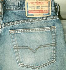 *HOT Men's DIESEL @ KULTER 737 RELAXED STRAIGHT Denim Jeans 32 x 34 (Fit 31x34)