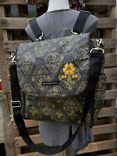 "Petunia Pickle Bottom Boxy Diaper Bag Backpack 13"" Tall X 12"" Long  X 6"" Wide"