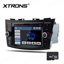"XTRONS 7"" Car DVD Player GPS NAV Sat Radio BT SD CD USB For Suzuki Swift Ertiga"