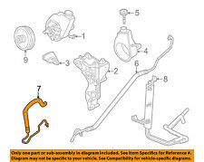 GM OEM Hydraulic-Outlet Hose 15295855
