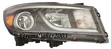 FITS KIA SEDONA 2015-2016 RIGHT PASSENGER HEADLIGHT HEAD LAMP LIGHT W/O LED