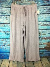 Croft & Barrow Women's missy sleep lounge pants Sz Small heathered purple