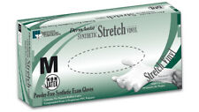IHC Stretch Vinyl Gloves Latex Free - Medium 100/BOX *Sealed Box*