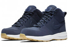 Nike Manoa Boys Navy Blue Textile Woman Boots Youth Kids Shoes AJ1280-400