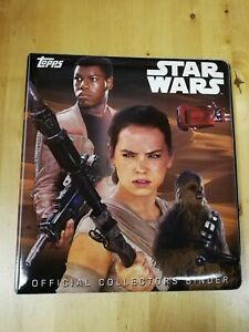 Star Wars The Force Awakens Heroes Trading Card Binder