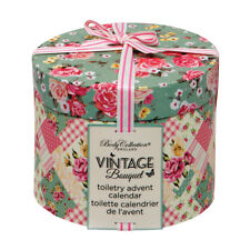 BODY COLLECTION VINTAGE BOUQUET TOILETRY ADVENT CALENDAR lovely gift