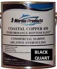 Coastal Copper 450 Multi-Season Ablative Antifouling Bottom Paint Black Quart