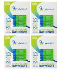 16 x starmo AAA MN2400 900 mAh HR03/1.2V batterie ricaricabili NiMH pronto all'uso