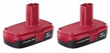 Craftsman C3 19.2-Volt Compact Lithium-Ion Two Battery Packs 9-35709  BRAND NEW