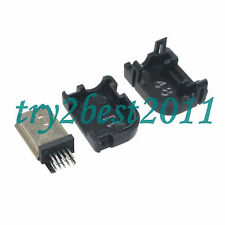 5pcs Mini USB Plug 10 Pin For Philips 90 degree with Plastic Handle Right Angle