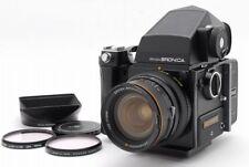 [B V.Good] ZENZA BRONICA SQ Medium Format + ZENZANON-S 50mm f/2.8 w/Grip R3812