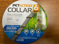 Petaction Small Dog Collar 6 Month Protection Flea And Tick