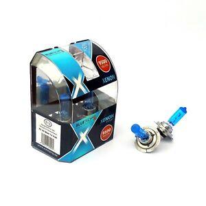 H7 XENON GLÜHLAMPEN 12V 55W 9500K von BLUETECH® SILVER EDITION XENON LOOK