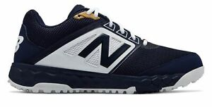 New Balance Low-Cut 3000v4 Turf Baseball Mens Shoes Navy with White