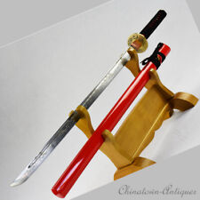 Protecting state Samurai Sword TangDao Carbon Steel Blade Battle ready #1383