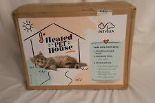 **NEW** Petyella Heated Pet House - Cat/Small Dog - Weatherproof