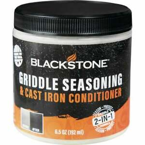 Blackstone 6.5 Oz. Griddle Seasoning & Cast Iron Conditioner Cream 4114  - 1