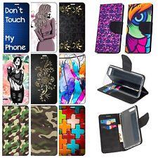 Schutz Hülle für NOKIA 2 3 3.1 5 5.1 6 6.1 7 + Handy Tasche Flip Case Etui Motiv