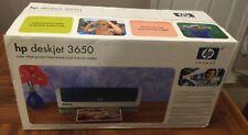 New HP Deskjet 3650 Standard Inkjet Printer in Unopened Box