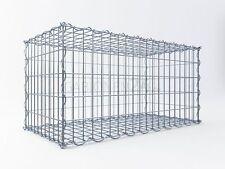 Spiral-Gabione 100 x 50 x 50cm, 4,5mm, Maschung Front 5x10cm, Rest 10x10cm