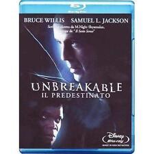 Blu Ray UNBREAKABLE IL PREDESTINATO - (2000) ...... NUOVO
