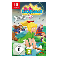 Bibi Blocksber Big Broom Race 3 Nintendo Switch EU 2018 Multi-Languages Sealed