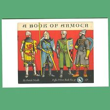 Postcard - A Book Of Armour - A Puffin Book Cover Postcard