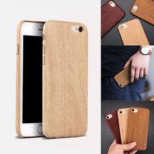 Coque/Bumper souple effet bois woodcase pour Iphone aux choix (SE/5/6/7/S/plus)