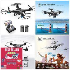 NEW FPV RC Drone 1080P HD Camera Live Video 120° Wide-Angle Wifi Quadcopter USA