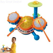 VTech KidiBeats Drum Set for Kids Boys Girls Toys Music Kit Fun Toddlers Learnin