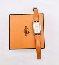 Hermes Cape Cod Duzon Ref.Cc3-210 Steel Dial Ladies Watch