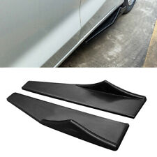 Universal Car Side Skirt Extension Rocker Splitters Winglet Wing Canard Diffuser