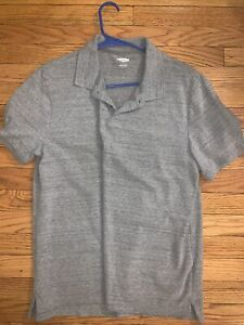 Old Navy Grey Polo Shirt - Built In Flex - Size Men's Large