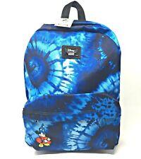 Vans Disney Mickey Mouse Backpack 90th Anniversary Fantasia Old Skool Bag Black