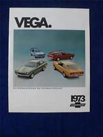 1973 CHEVROLET VEGA NOTCHBACK KAMMBACK HATCHBACK CAR SALES BROCHURE GM CANADA