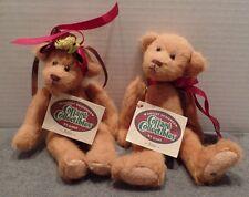 Ganz Cottage Collectibles Tillie #CC251 & Tota #252 Carol Kirby Plush Teddy Bear