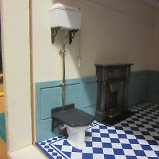 1:12 scale Dolls House Victorian Toilet  Ready made   finished  LA01DHD ready