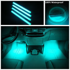 Car SUV Interior Footwell Decorative Glow LED Neon Atmosphere COB Light Strips