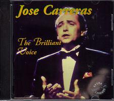 Jose Carreras The Brilliant Voice 1994 Retro Music CD Opera Master Cuts Legends