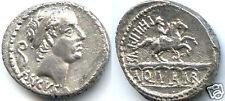 REPUBLIQUE ROMAINE L. MARCIUS PHILIPPUS (56 Av J.C) DENIER !!!!!!