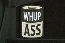 CAN OF WHUP ASS SWAT CLOTH MORALE EMBROIDERED PATCH TACTICAL GUN  2ND AMMENDMENT