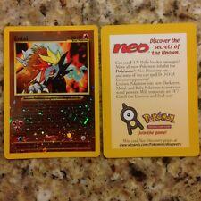 * RARE * SEALED * Lot of 50 cards MINT Holo Entei Promo #34 Black Star Pokemon