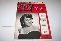 MARCH 23 1951 DOWN BEAT jazz music magazine GLORIA VAN